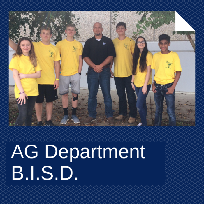 BISD AG students participate in the Greenhand Camp.