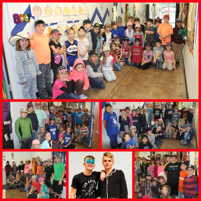 Red Ribbon Week Pics from today! Elementary - Team Hat/Jersey Day JH/HS - Pajama Day