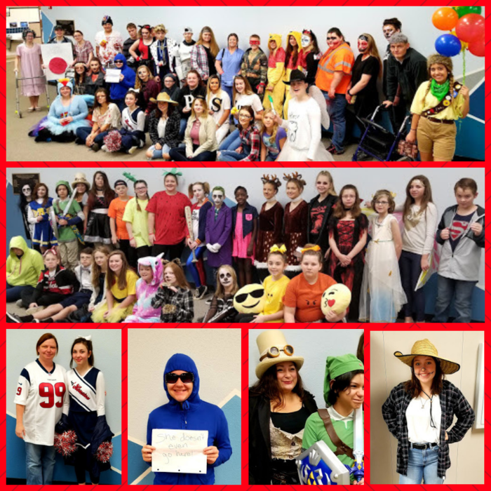 Last day of Red Ribbon Week! Elementary - Costume or Tacky Day JH/HS - Costume Day