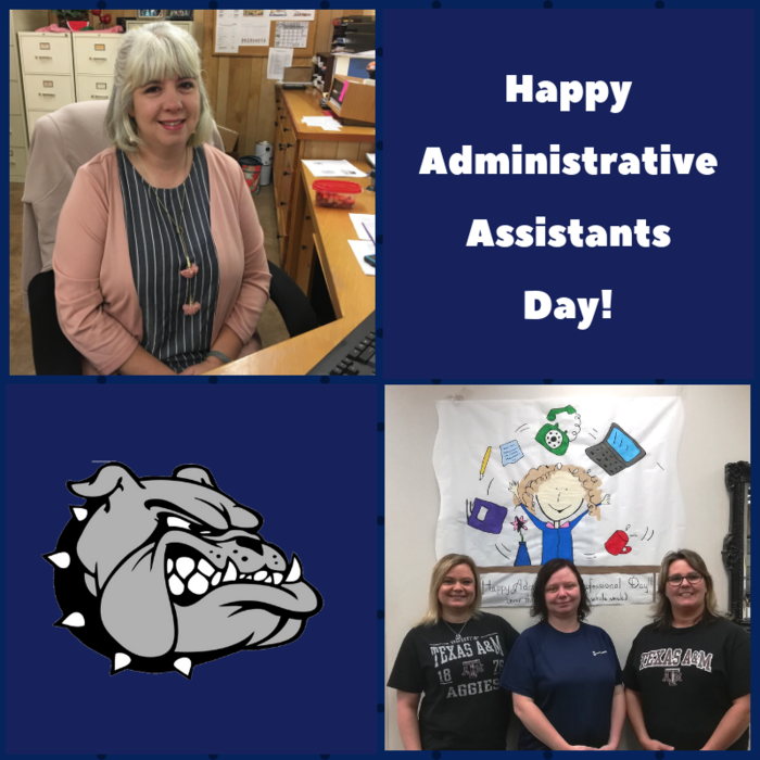 Happy Administrative Assistants Day!