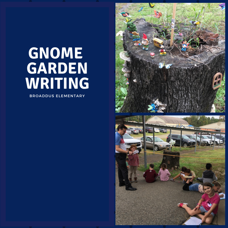 Gnome Garden Writing
