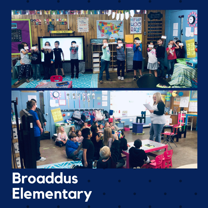 1st graders loved participating in the #fantasticteethfanclub provided by the Broaddus Masonic Lodge #1112.