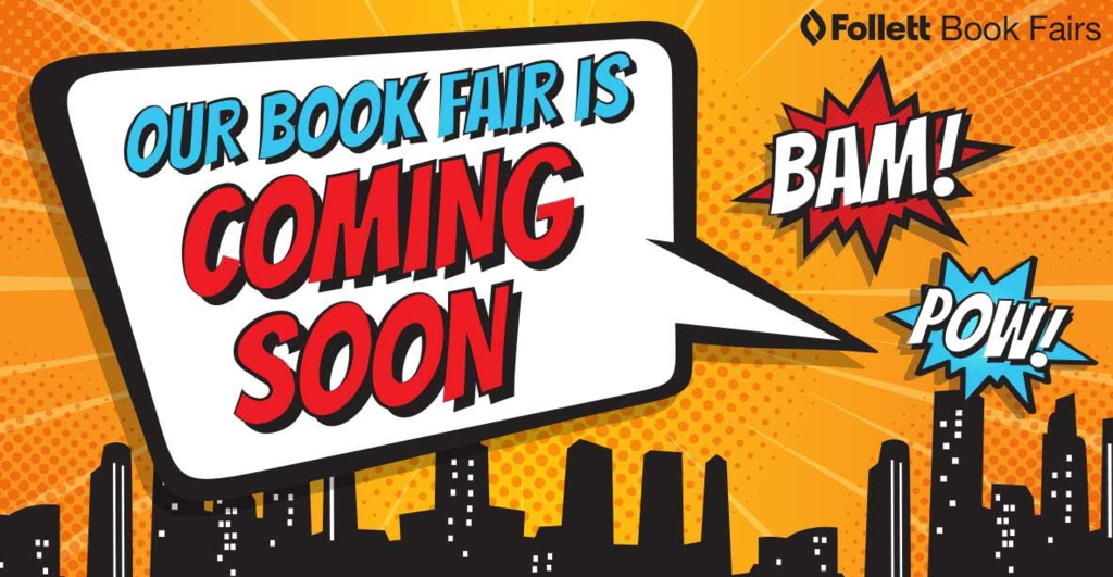 Our book fair is coming soon!