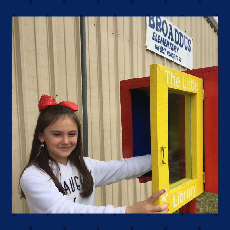 Broaddus Elementary Free Little Library