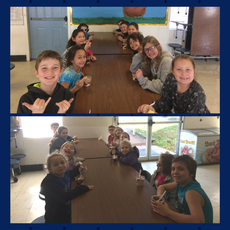 Perfect Attendance Ice Cream Party!