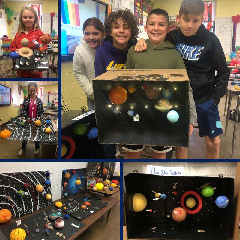 5th Grade Solar System Projects