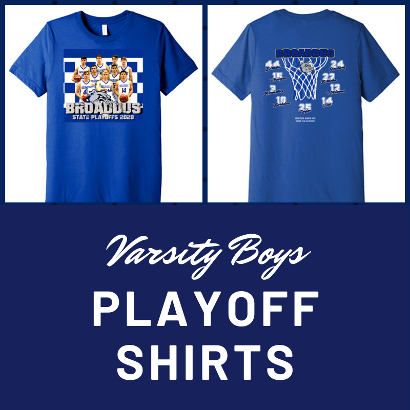 Varsity Boys Playoff Shirts