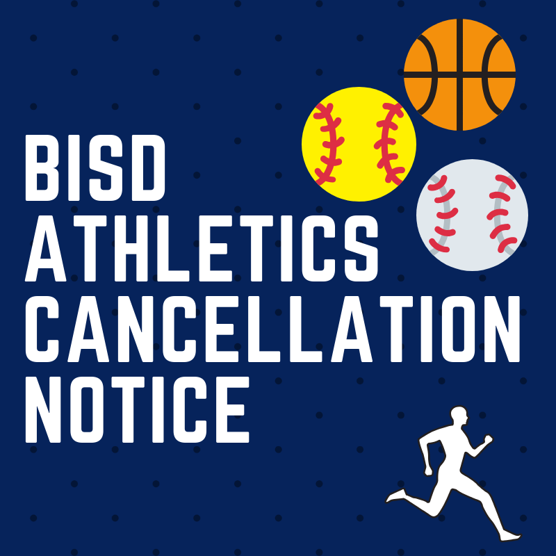 BISD Athletics Cancellation